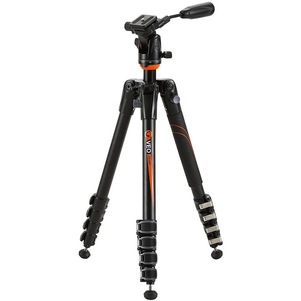 Aluminum Tripod with Pan/Tilt Head