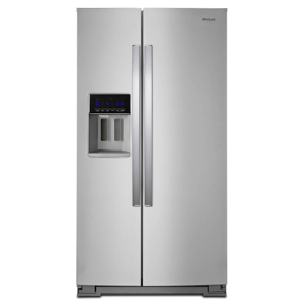 28 Cu. Ft. Stainless Steel Side-by-Side Refrigerator
