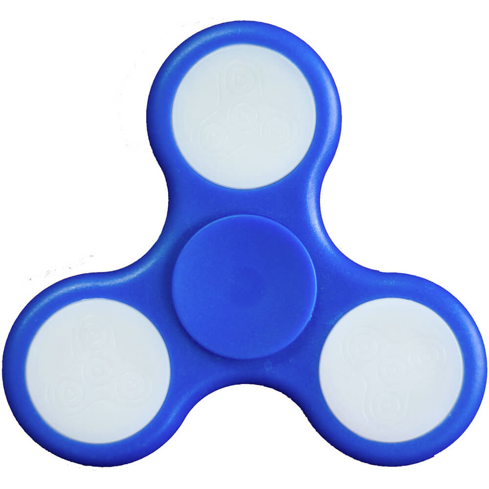 Fidget Spinner - Blue LED