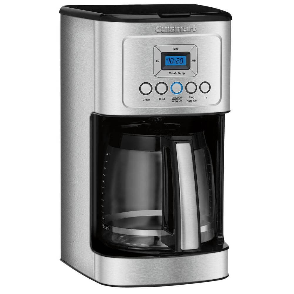14 Cup Stainless Steel Programmable Coffee Maker - Recertified