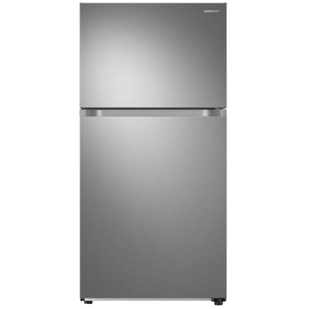 21.1 Cu. Ft. Stainless Steel Top Freezer Refrigerator