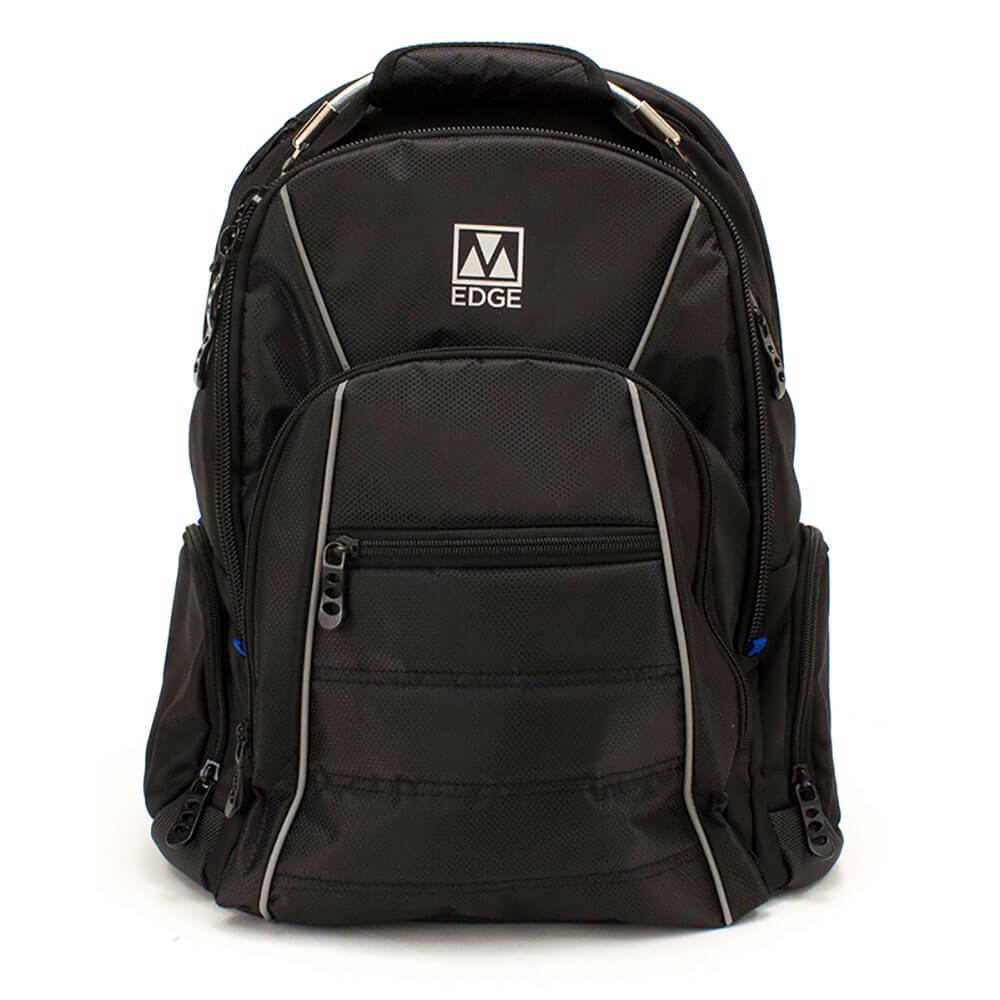 Cargo Backpack with Battery - Black