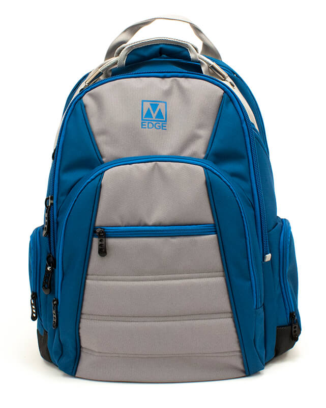 Cargo Backpack with Battery - Blue