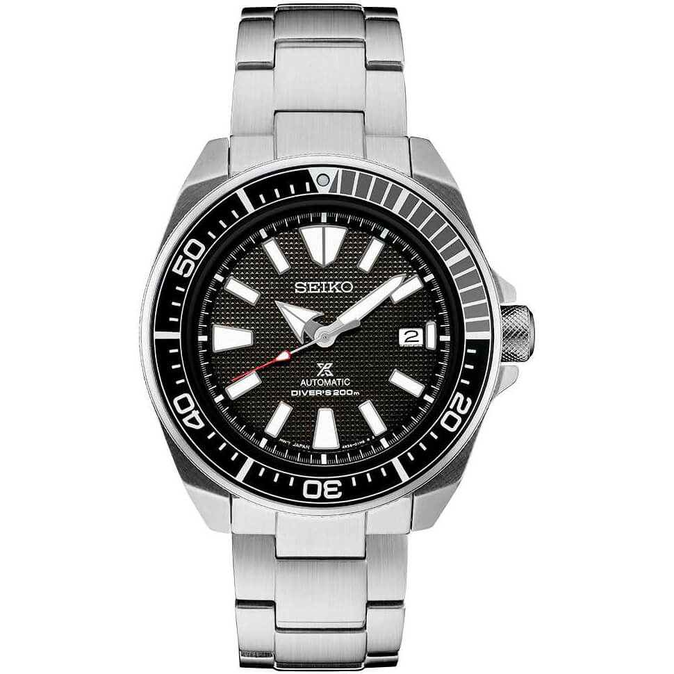 Mens Silver Prospex Automatic Dive Watch