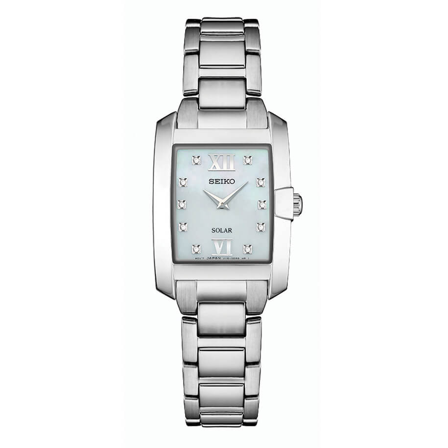 Womens Silver Core Solar Watch