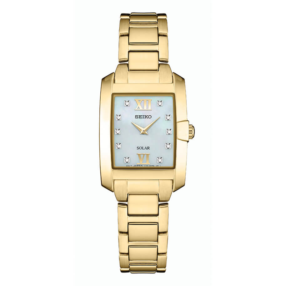 Womens Gold Core Solar Watch