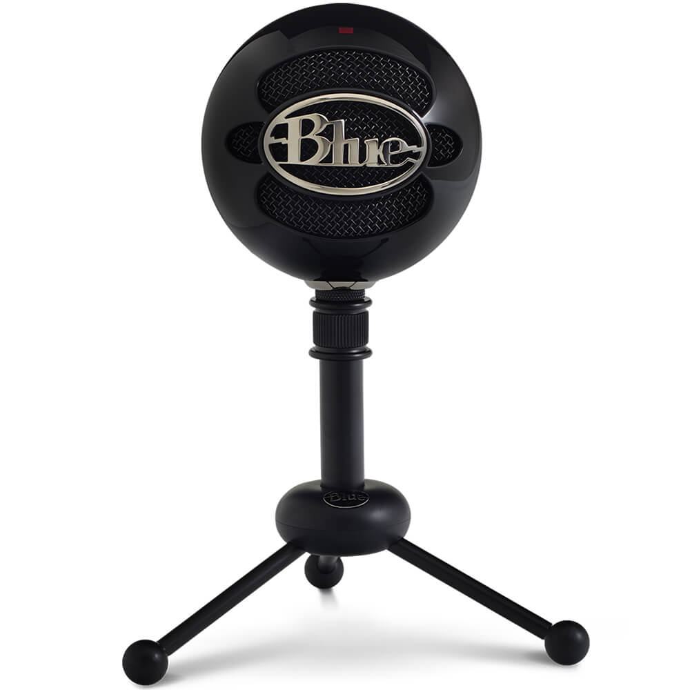 Snowball USB Condenser Microphone - Gloss Black