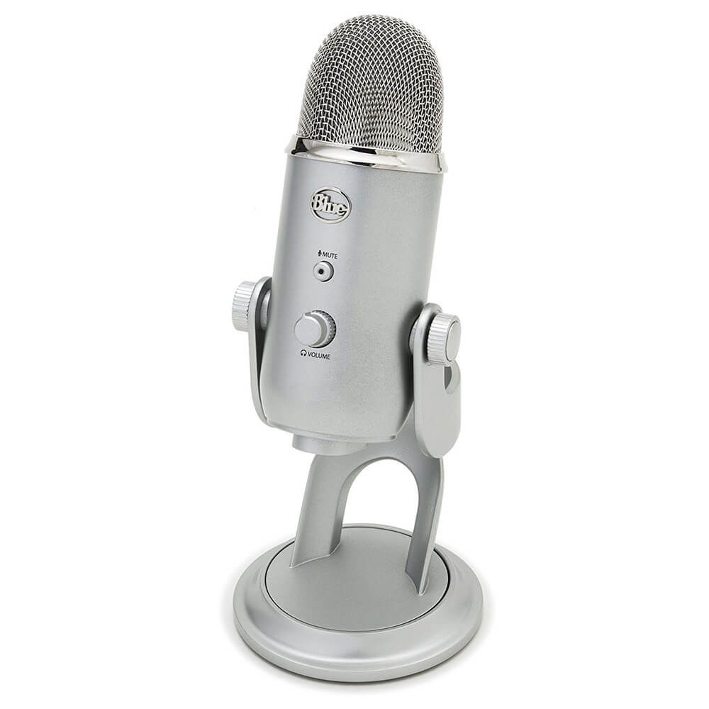 Professional USB Microphone - Silver