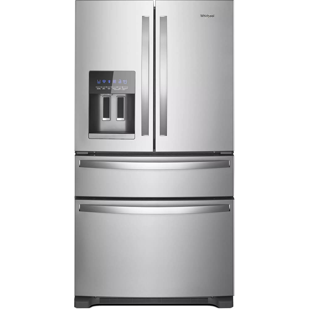 25 Cu. Ft. Stainless 4 Door French Door Refrigerator