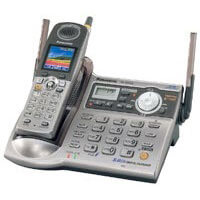 5.8GHz Expandable Cordless Phone System With USB Port, Answering System