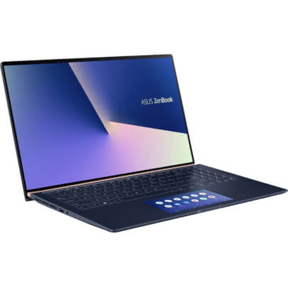 Angled view of the ASUS Zenbook 15