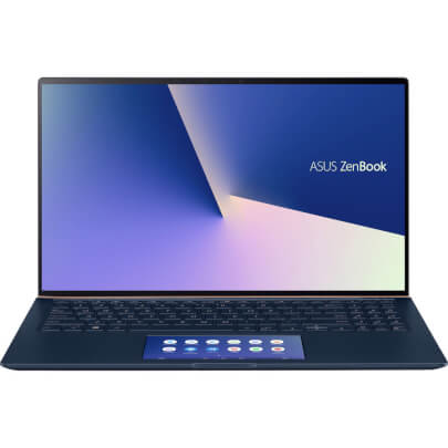 Front view of the ASUS Zenbook 15
