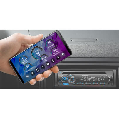 Front view of the Pioneer car radio remote control- DEHS4200