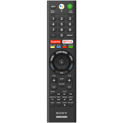 sony smart android tv remote