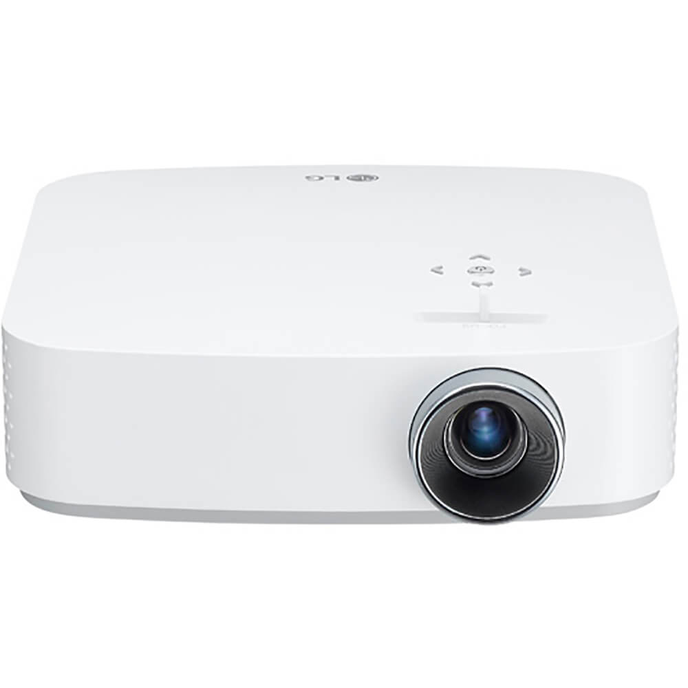 front view of the lg 1080p led smart projector model number pf50ka