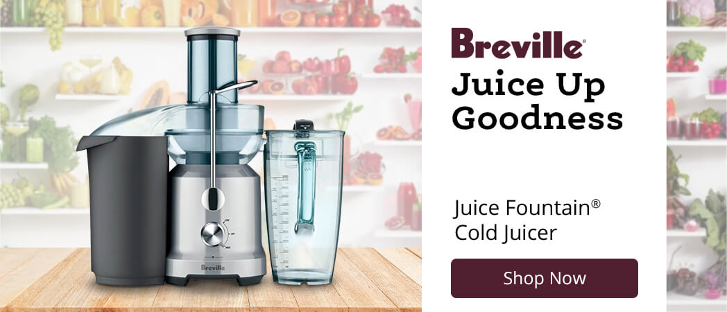 Breville Juice Fountain� Cold Juicer