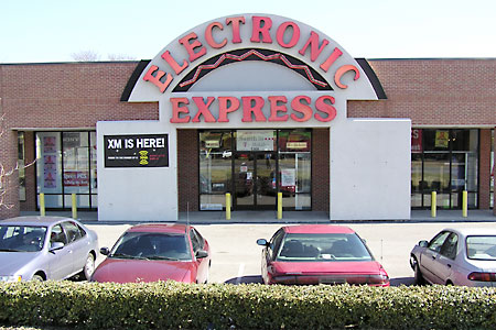 Electronic Express Nolensville Pike Store Front
